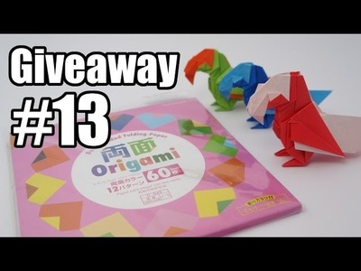 Giveaway #13 - Double-sided origami paper