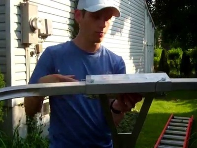 How To Attach Ladder Stabilizer - Clamp On