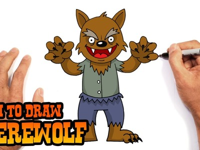 How to Draw a Werewolf- Beginners Art Lesson