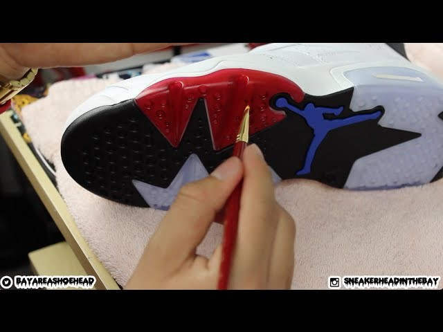 How To Dye Icey.Translucent Soles Tutorial!
