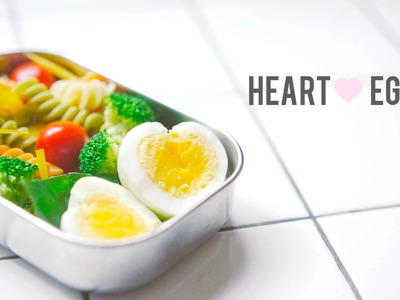 How To: Heart Shaped Egg Bento