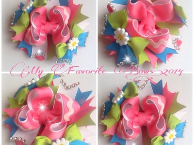How to make a 5 inch boutique style hair bow (part 2 of 2)