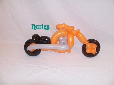 How to make a Balloon Motorcycle Cruiser  by Stretch the Balloon Dude