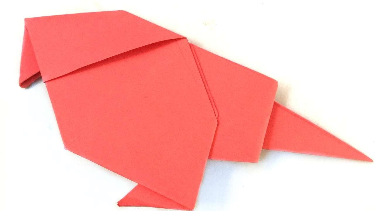 How To Make A Gorgeous Origami Bird - DIY Crafts Tutorial - Guidecentral