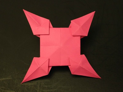 How to make a paper star: instruction| Ninja Star