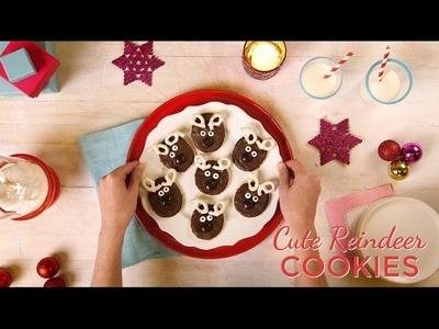 How To Make Cute Reindeer Cookies