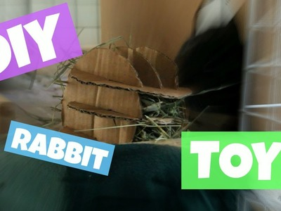 How to Make Homemade Rabbit Toy  -Hay Roller - DIY Pet Toy