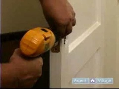 How to Update an Old Door : How to Replace Hardware to a Door during Remodeling