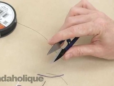 How to Use Beadsmith Thread Snips