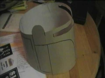 Jango Fett Costume Episode IV part 1: A New Kind of Cardboard