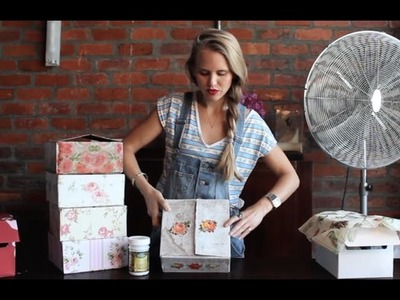 Mariel Makes Covered Boxes DIY