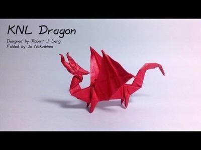 Origami KNL Dragon (Robert J. Lang)