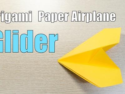 Origami long range Glider Paper Airplane