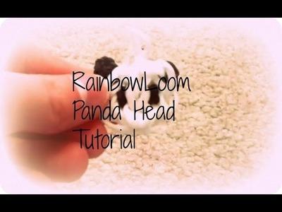 Panda head charm tutorial