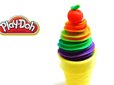 Playdoh Rainbow Swirl Ice Cream