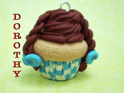 Clay Made Easy: Dorothy Cupcake Tutorial