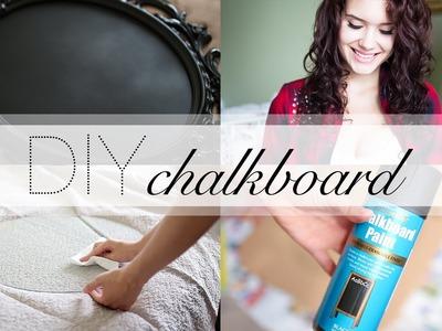 DIY: Custom vintage chalkboard frame! (IKEA Ung Drill) #IKEAhackers