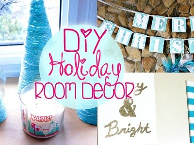 DIY Holiday Room Decor! Belinda Selene