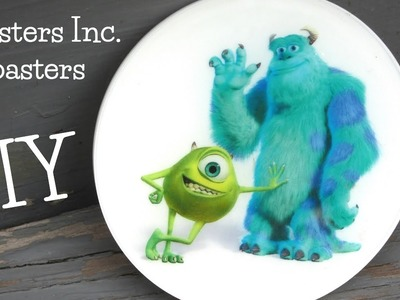 DIY Resin Monsters Inc  Coaster   Another Coaster Friday Craft Klatch