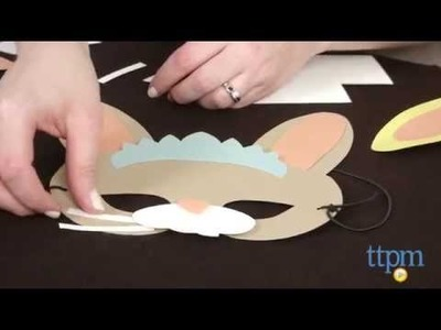 Funny Bunnies Mask Kit from Paper Source