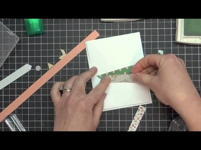 Got Scraps? Grab Your Paper Strips for a Great Card Layout