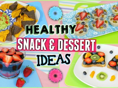 Healthy Snack & Treat Ideas for After School or Work! (Easy & Delicious) ♡ | Jessica Reid