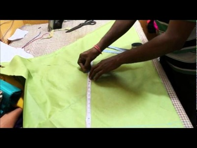 How to cut chooridar pajama. Tutorial Video on Churidar pajama