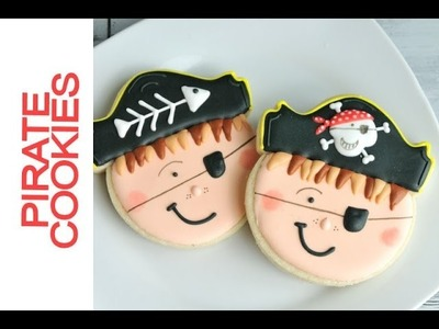 HOW TO DECORATE PIRATE COOKIES WITH ROYAL ICING