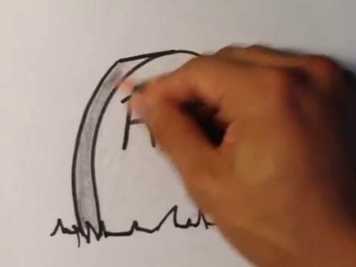 How to Draw a GRAVE - Halloween Drawings