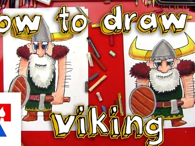 How To Draw A Viking