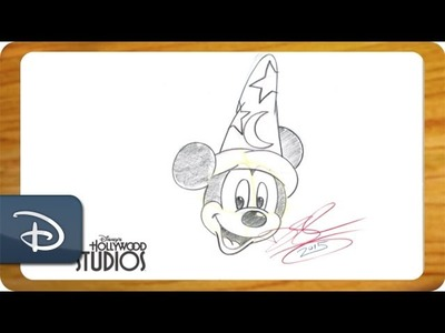 How to Draw: Sorcerer Mickey from 'Fantasia' | Walt Disney World