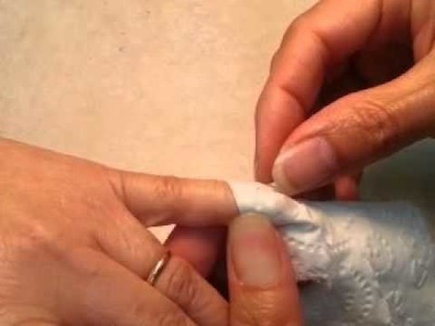 How to fix cracking real nails, using toilet paper