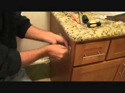 How to install a toilet paper holder. Part 2