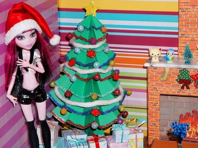 How to Make a Doll Christmas Tree (Monster High, EAH, Barbie, etc)