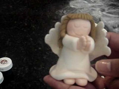 How to make a FONDANT ANGEL PART 1