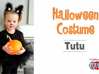 How to Make a Halloween Costume Tutu - TheRibbonRetreat.com