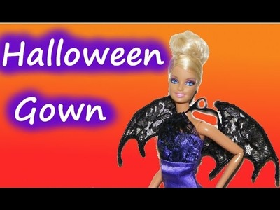 How to make a Halloween Gown for Dolls