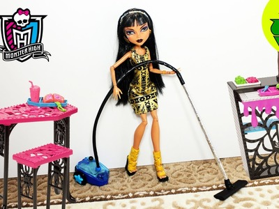 How to make a realistic doll vacuum cleaner- Doll Crafts