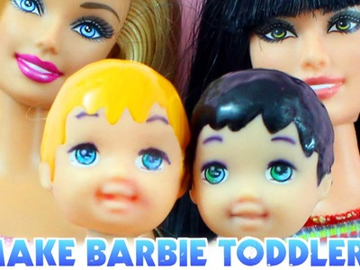 How to make a toddler boy for Barbie - Easy Doll Crafts