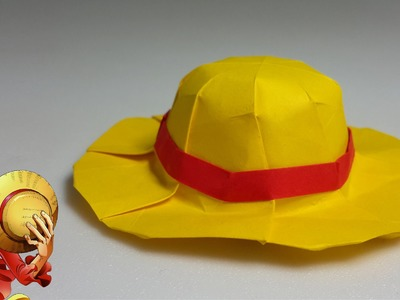 How to make an origami straw hat (One Piece) (Henry Phạm)