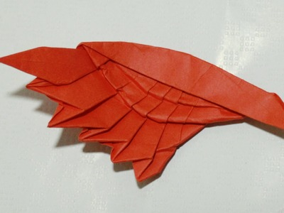 How to make an origami wing (Henry Phạm)