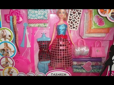 How to make Barbie Doll Clothes Singlet. Barbie Design