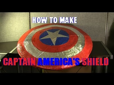 How to Make Captain America's Shield