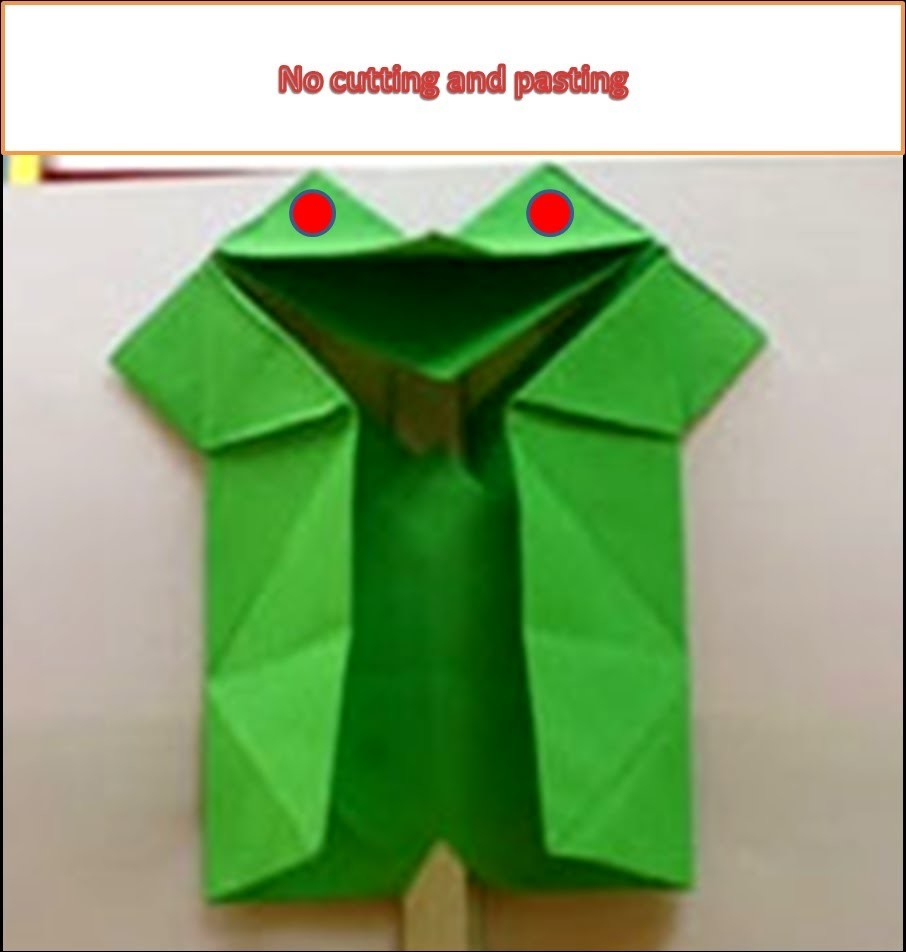 How to make paper bird easily (puppet)