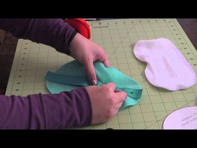How To: Sew an Adventure Time (Ice King) Sleep Mask