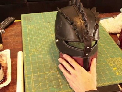 HTTYD2 How to make Hiccup's Helmet Part 2 Finished