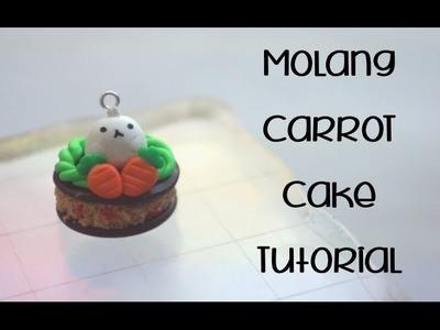 Molang Carrot Cake Tutorial