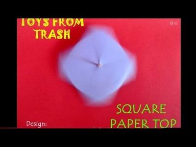SQUARE SPINNER - MALAYALAM - A splendid paper spinner!