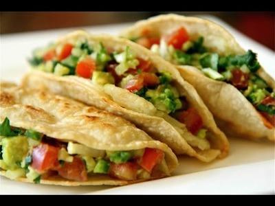 TACO PARTY- Potato Tacos - Tacos de Papa