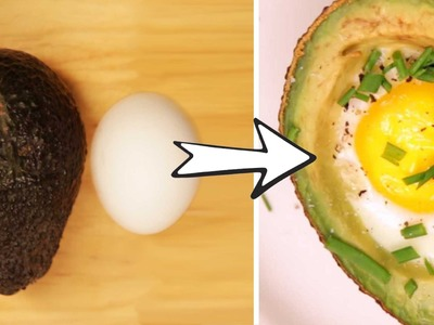 The Ultimate Avocado Egg Hack